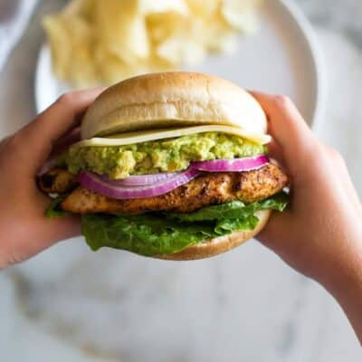 Easy Grilled Chicken Burgers