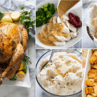 Classic Thanksgiving Menu (with grocery list and make-ahead tips!)