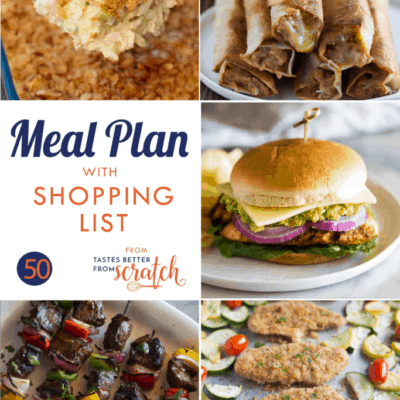 Weekly Meal Plan (50)