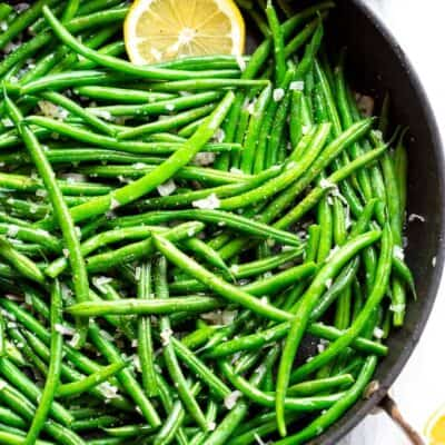 French Green Beans (Haricots Verts)