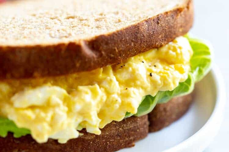 Egg Salad Sandwich - tastesbetterfromscratch.com