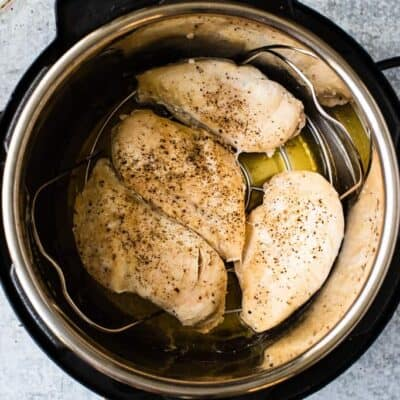 Instant Pot Chicken Breasts (Fresh or Frozen)
