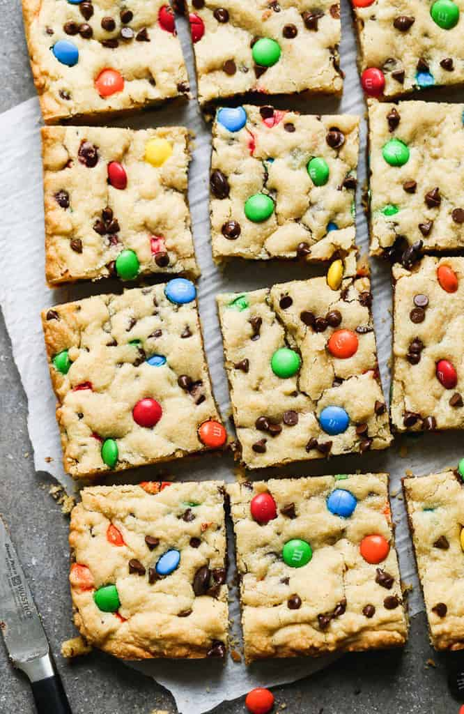 M M Cookie Bars Recipe Tastes Better From Scratch