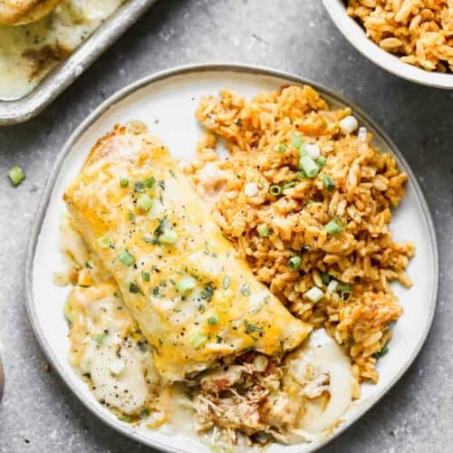 Smothered Green Chili Burritos Tastes Better From Scratch